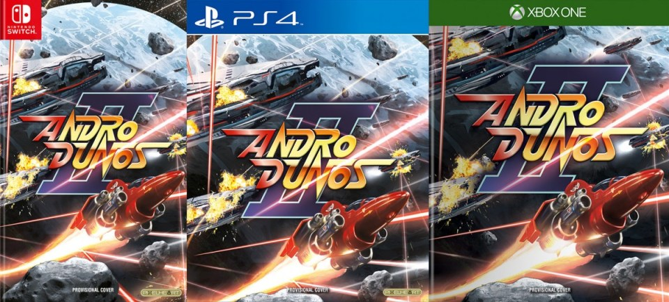 andro dunos 2 physical retail release standard edition pixelheart xbox one playstation 4 nintendo switch cover-www.limitedgamenews.com