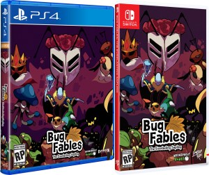bug fables physical retail release standard edition limited run games playstation 4 nintendo switch cover www.limitedgamenews.com