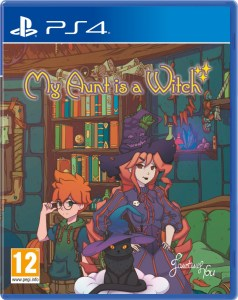 my aunt is a witch physical retail release red art games playstation 4 cover www.limitedgamenews.com