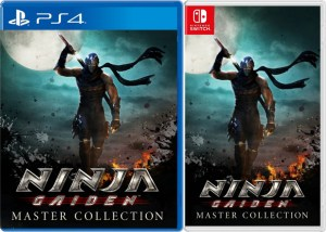 ninja gaiden master collection physical retail release asia multi-language playstation 4 nintendo switch cover www.limitedgamenews.com