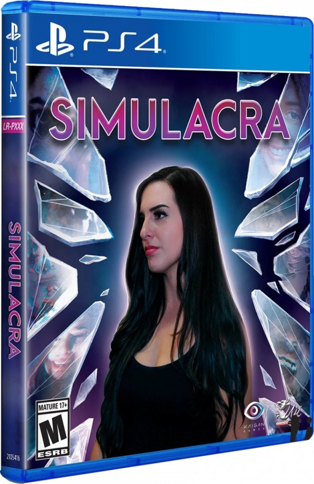 simulacra physical retail game limited run games playstation 4 www.limitedgamenews.com