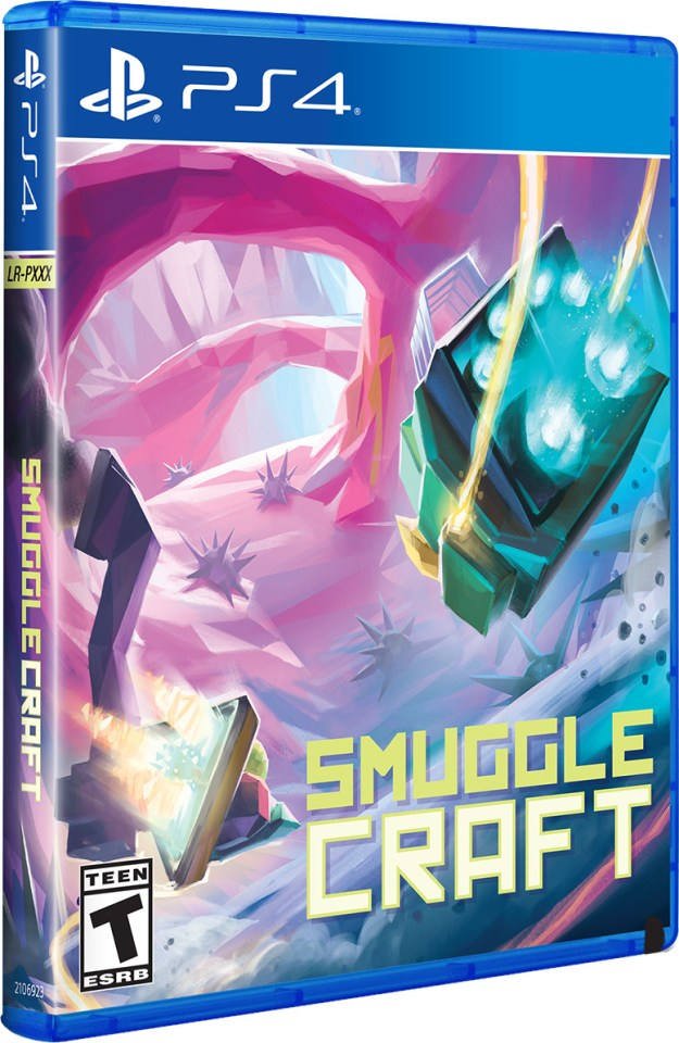 smugglecraft physical retail release limited run games playstation 4 cover www.limitedgamenews.com
