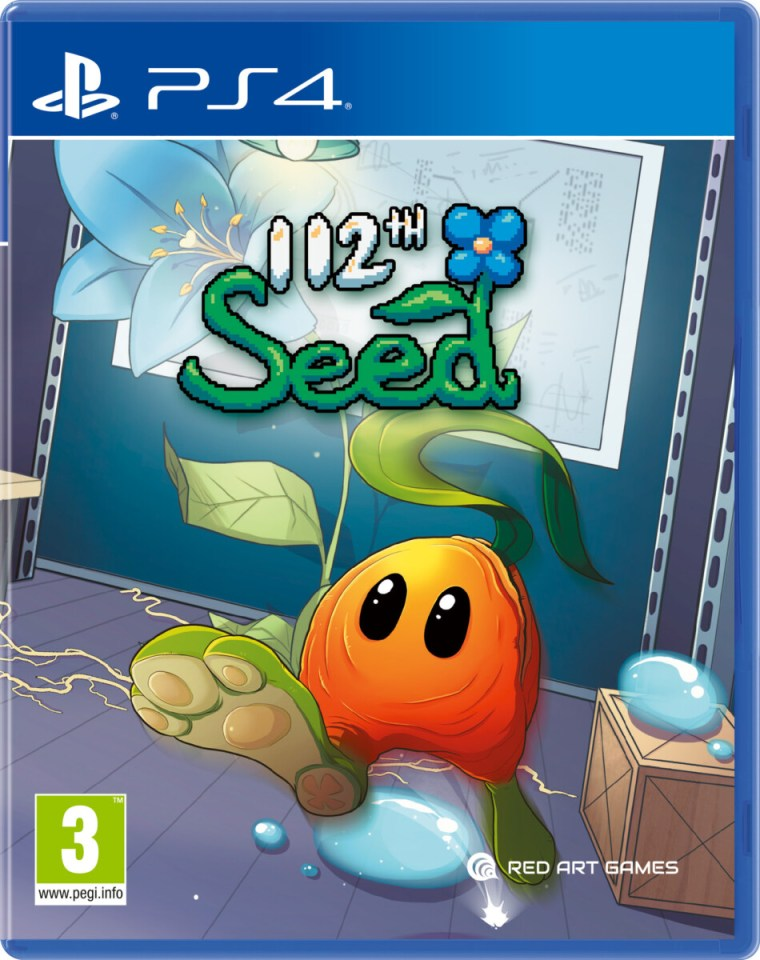112th seed physical retail release red art games playstation 4 cover www.limitedgamenews.com