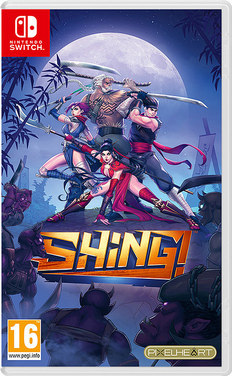 shing! standard edition physical retail release pixelheart eu edition nintendo switch cover www.limitedgamenews.com
