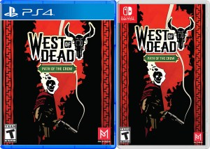 west of dead physical retail release pm studios playstation 4 nintendo switch cover www.limitedgamenews.com