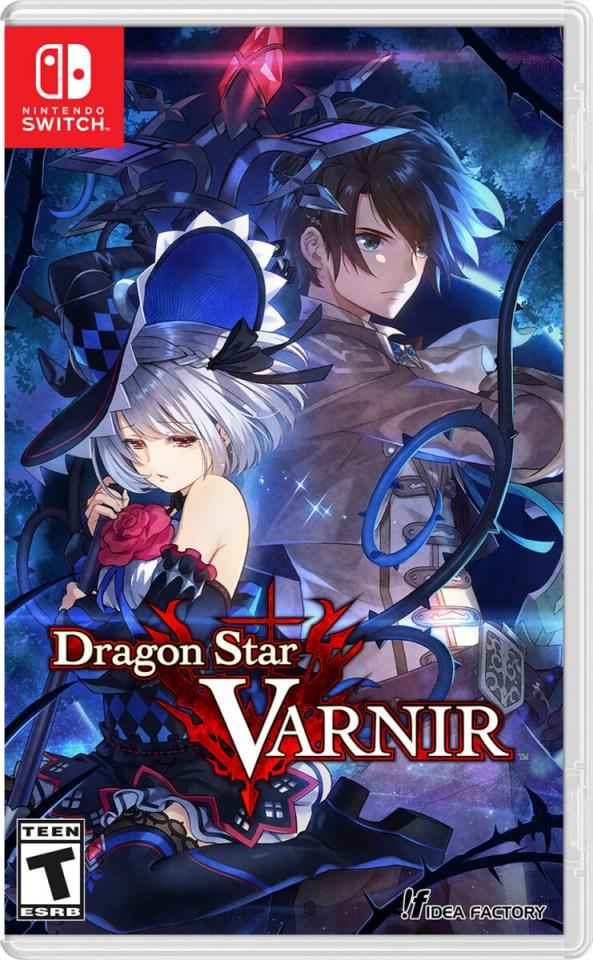 dragon star varnir physical retail release idea factory nintendo switch cover www.limitedgamenews.com