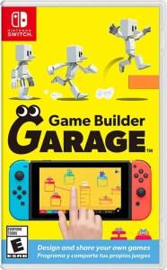 game builder garage physical retail us release nintendo switch cover www.limitedgamenews.com