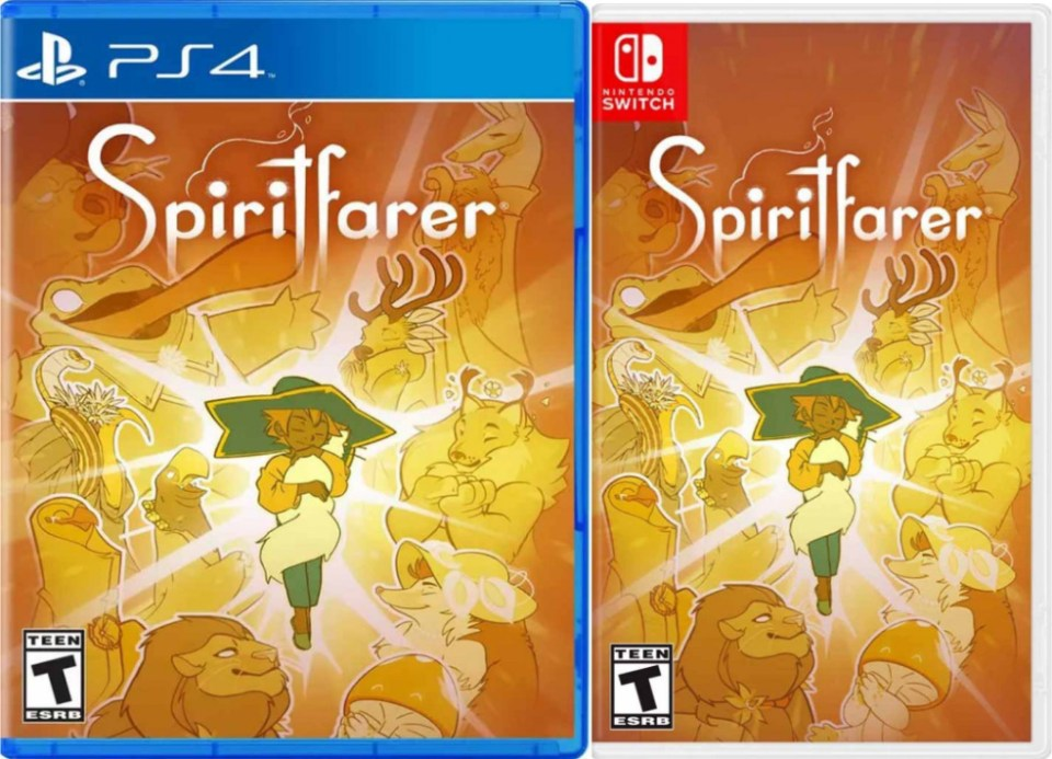 spiritfarer physical retail release standard edition iam8bit playstation 4 nintendo switch cover www.limitedgamenews.com