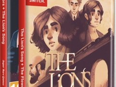 the flower collectors the lions song 2 games 1 cart physical retail release super rare games nintendo switch cover wwwlimitedgamenews.com