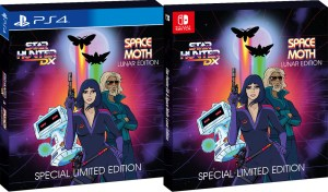 star hunter dx space moth lunar edition special limited edition physical retail release strictly limited games playstation 4 nintendo switch cover www.limitedgamenews.com