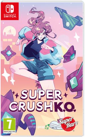 super crush k o physical retail release super rare games nintendo switch cover www.limitedgamenews.com