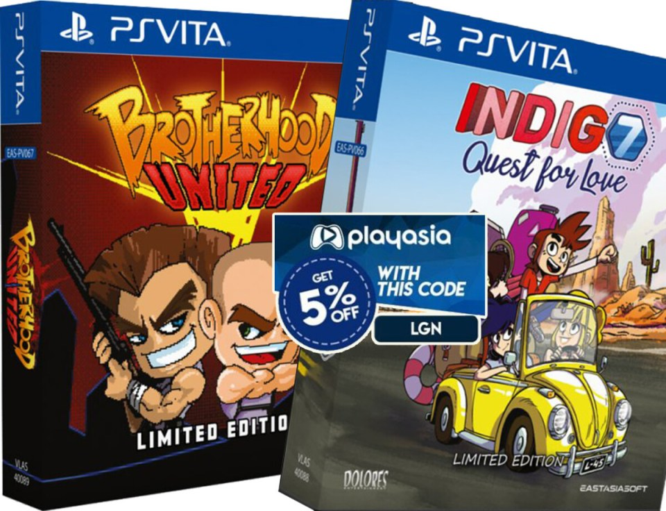 coupon play asia brotherhood united indigo 7 quest for love limited edition physical retail release eastasiasoft playstation vita cover www.limitedgamenews.com