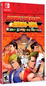 double dragon & kunio kun retro brawler bundle standard edition physical retail release limited run games nintendo switch cover www.limitedgamenews.com