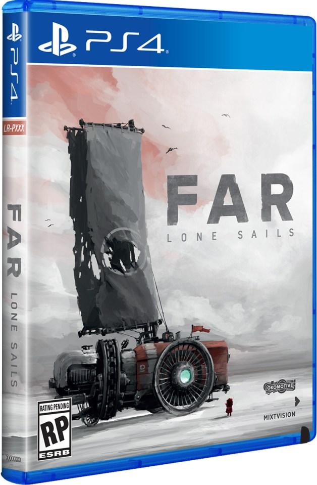 far lone sails physical retail release limited run games playstation 4 cover www.limitedgamenews.com