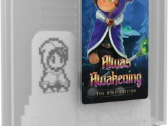 alwas awakening the 8-bit edition physical retail release retro-bit publishing limited run games nintendo nes cover www.limitedgamenews.com