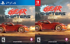 gearshifters collectors edition physical retail release numskull games playstation 4 nintendo switch cover www.limitedgamenews.com
