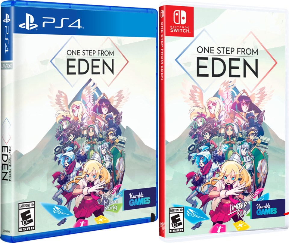one step from eden physical retail release limited run games playstation 4 nintendo switch cover www.limitedgamenews.com