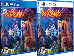 sir lovelot physical retail release limited run games playstation 4 playstation 5 cover www.limitedgamenews.com