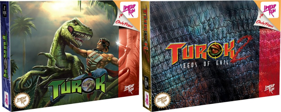 turok turok 2 seeds of evil remastered classic edition physical retail release limited run games playstation 4 cover www.limitedgamenews.com