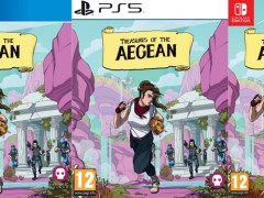 treasures of the aegean standard edition physical retail release numskull games playstation 4 playstation 5 nintendo switch cover www.limitedgamenews.com