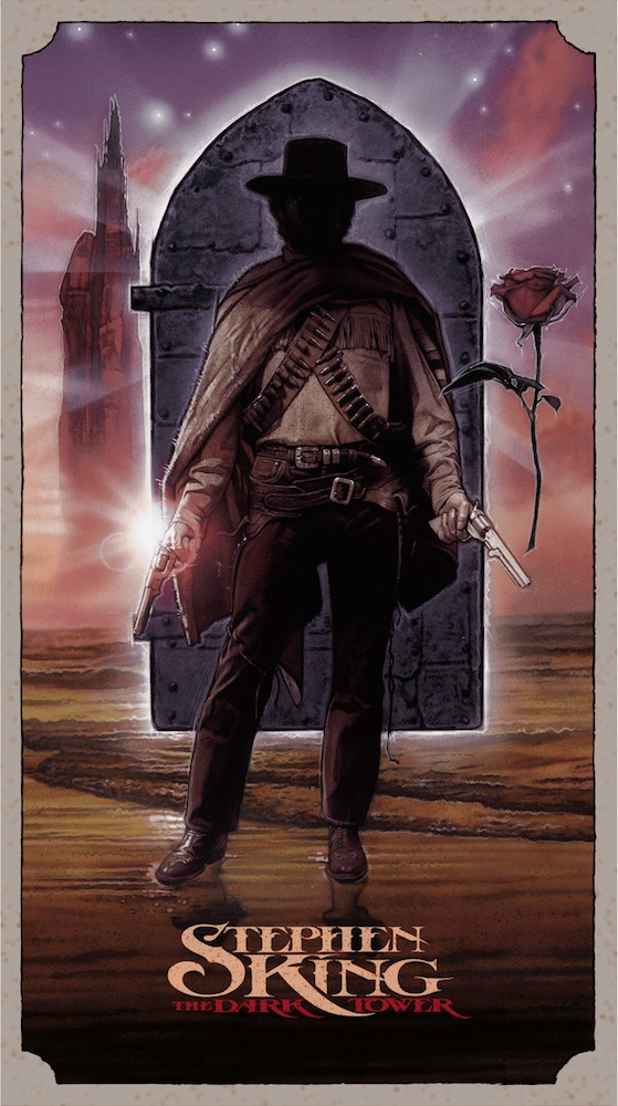 "「ダークタワー」DARK TOWER  by Drew Struzan Size: 20"" x 36"" Edition: 450 US$275"