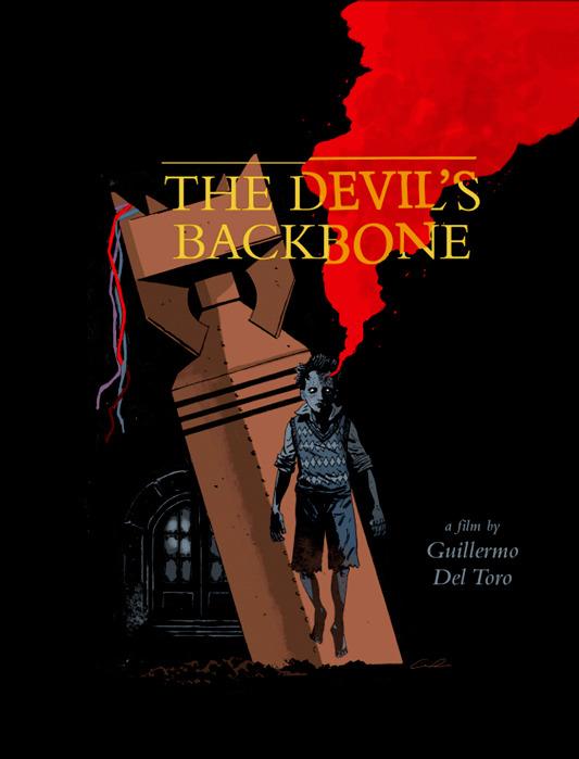 「デビルズ・バッグボーン」The Devil's Backbone by Guy Davis 18″ x 24″ Edition of 210 $45