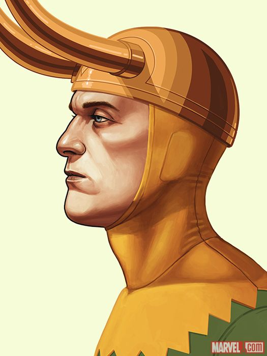 LOKI BY MIKE MITCHELL