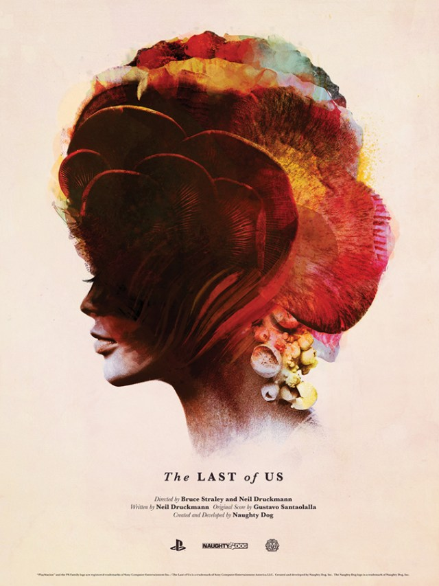 「ラスト・オブ・アス」 The Last of Us  Poster by Olly Moss & Jay Shaw  18″ x 24″ Edition of 325