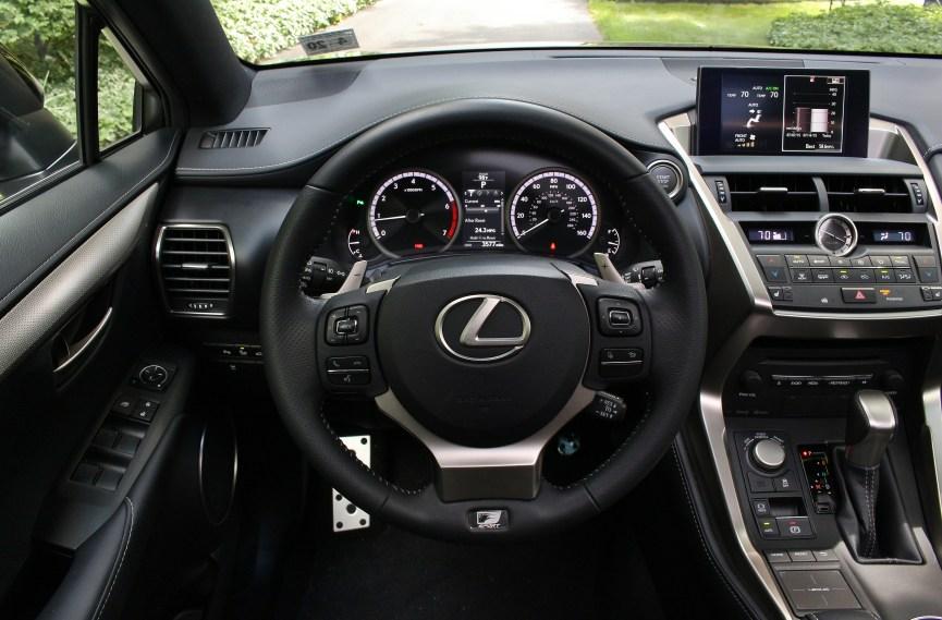 Lexus NX FSport 9