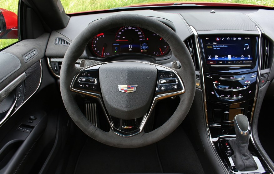 2016 Cadillac ATS-V Interior 3