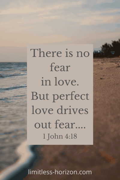 Is God ever disappointed in us? There is no fear in love. But perfect love drives out fear... 1 John 4:18
