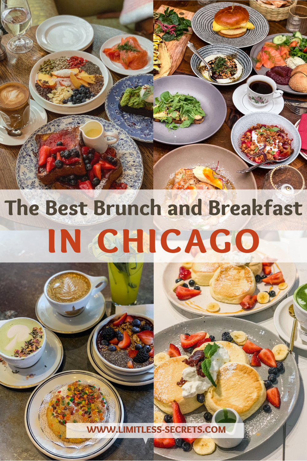 Best Breakfast and Brunch in Chicago. As a foodie, I looked for the best spots for brunch and breakfast in Chicago and I found many good cafes and restaurants! I am sharing with you my favorite addresses to eat the best food in the Windy City! Take a look to discover the best places to eat brunch and breakfast in Chicago! Chicago eats | Best places to eat in Chicago | Where to eat in Chicago | Where to have brunch in Chicago | where to eat breakfast in Chicago | Chicago travel guides