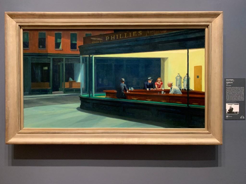 Edward Hopper - Nighthawks - Art Institute of Chicago