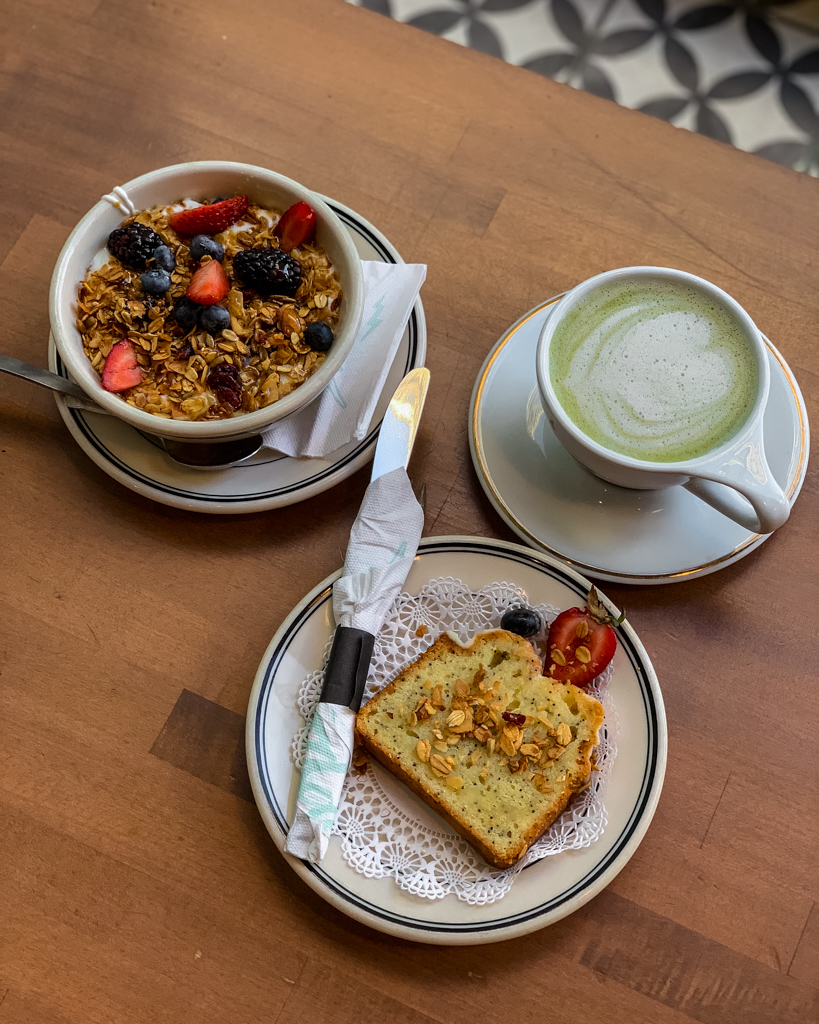 Breakfast at Goddess and the Baker in Chicago