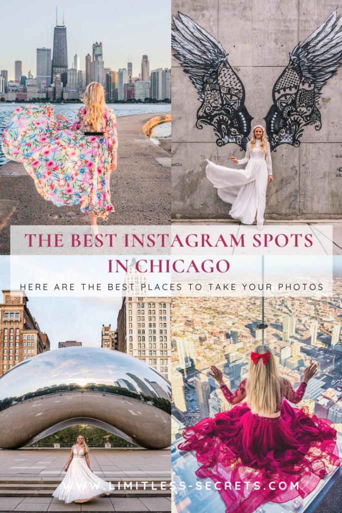 The Best Instagram spots in Chicago! I am sharing with you the most instagrammable places in Chicago! I can tell you where you will be able to take beautiful photos in this city! #Chicago #illinois #USA   Chicago photography   Most instagrammable places in Chicago   Where to take photos in Chicago   Chicago insta spots   Chicago photos   Where to take photos in Chicago   Chicago photo spots   Best places to take photos in Chicago   What to see in Chicago   What to do in Chicago