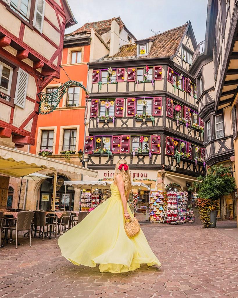 """Souvenir shop """"Au Vieux Pignon"""" - Colmar, Alsace"""