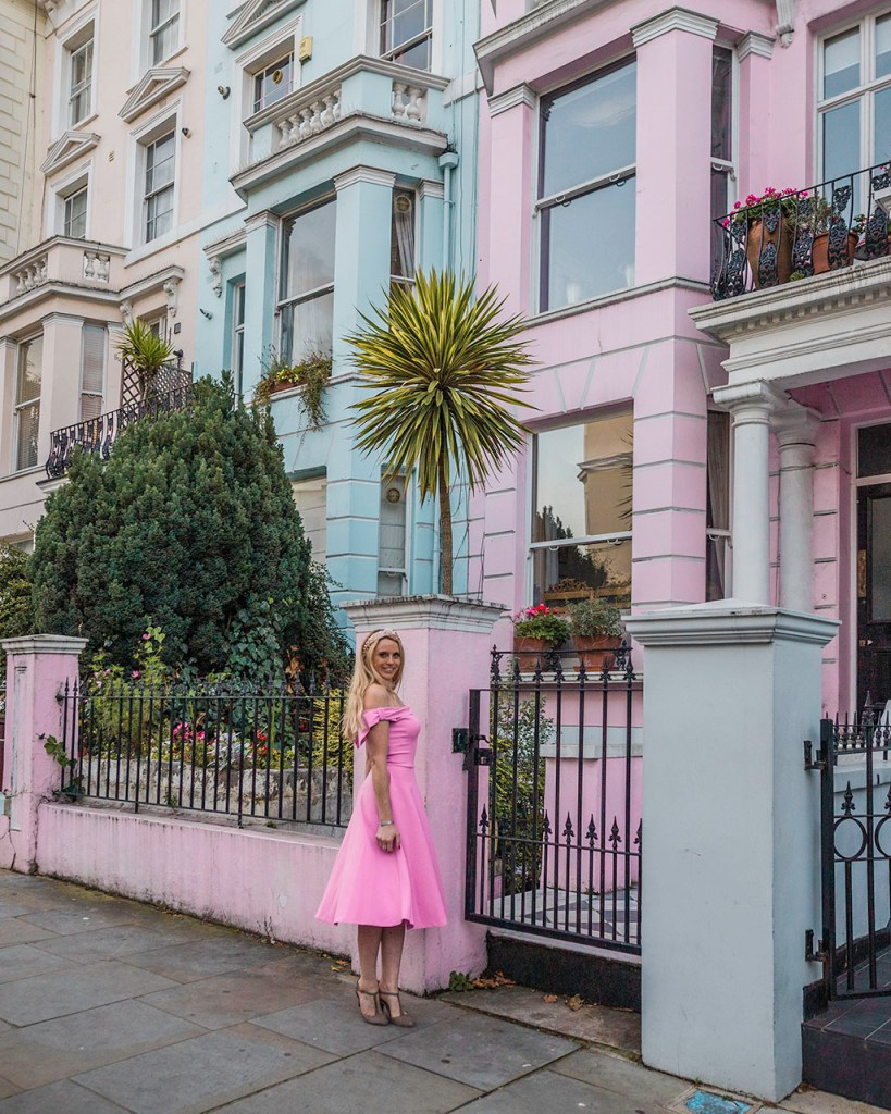 Notting Hill Houses in Chepstow villas - London