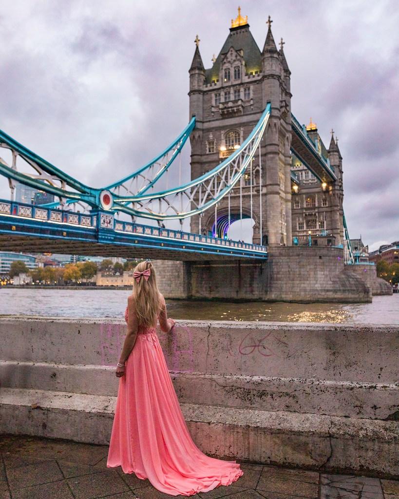 Tower bridge from Butler's Wharf Pier - London
