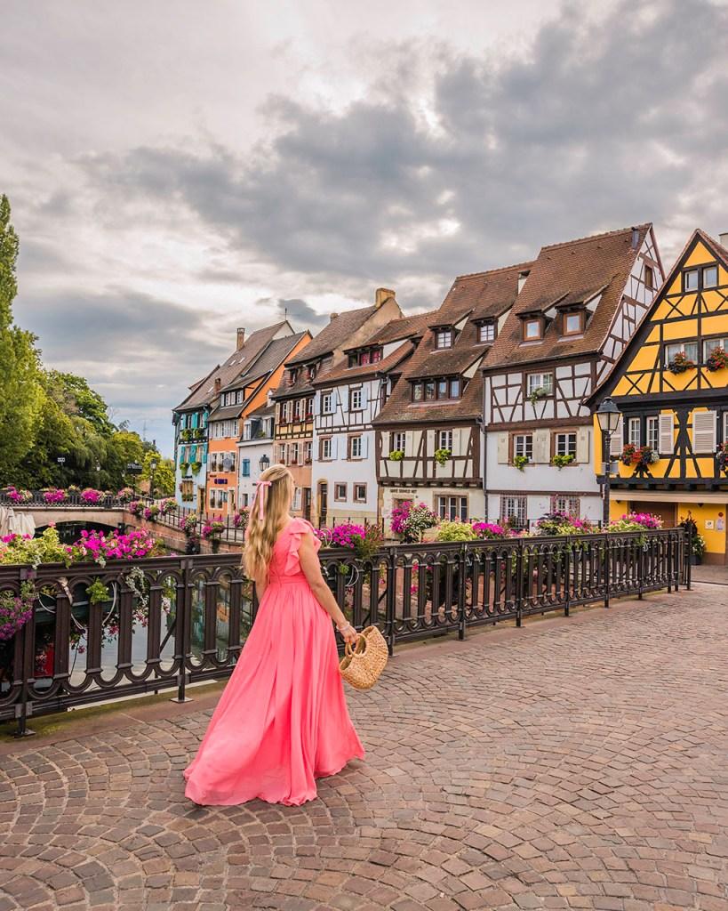 Pont rue des Ecoles - Colmar, Alsace