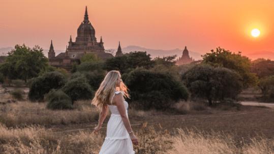 Sunset in Bagan - Myanmar