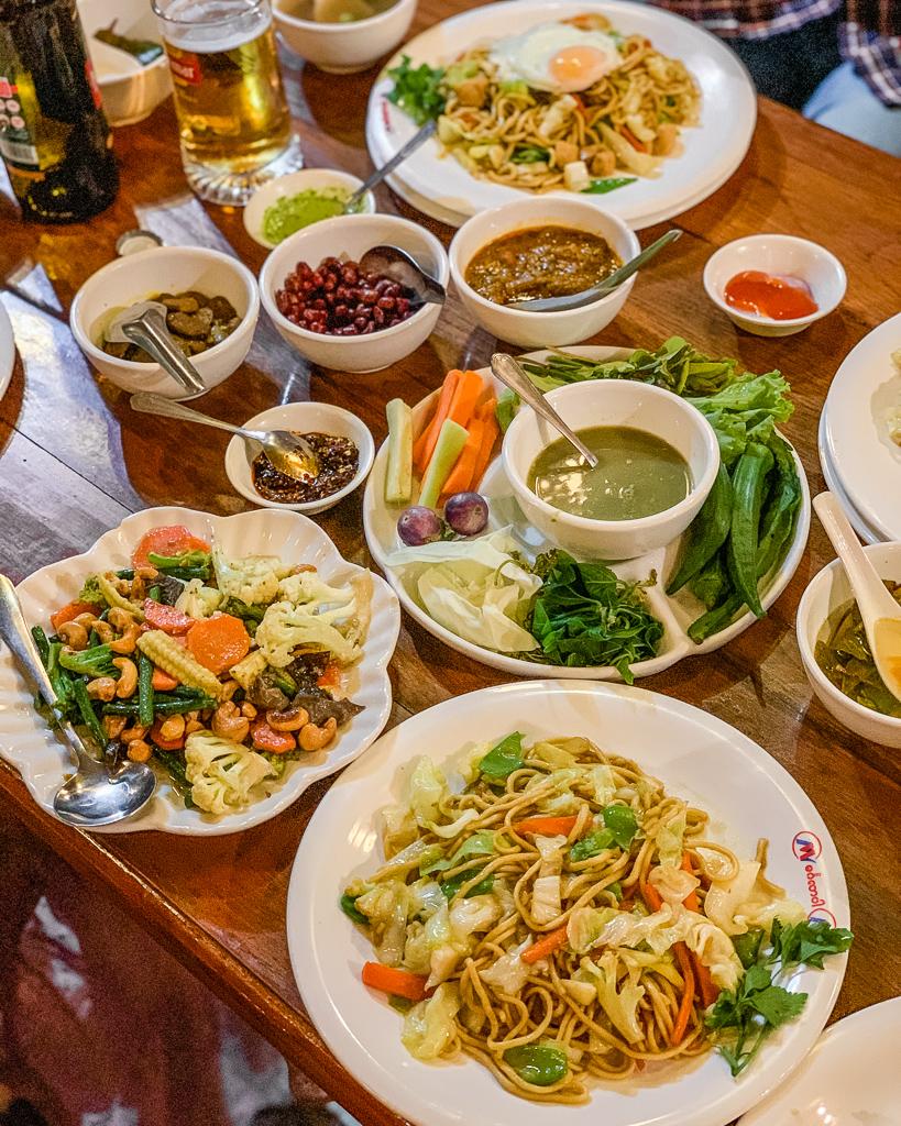 Mingalabar Restaurant in Mandalay, Myanmar