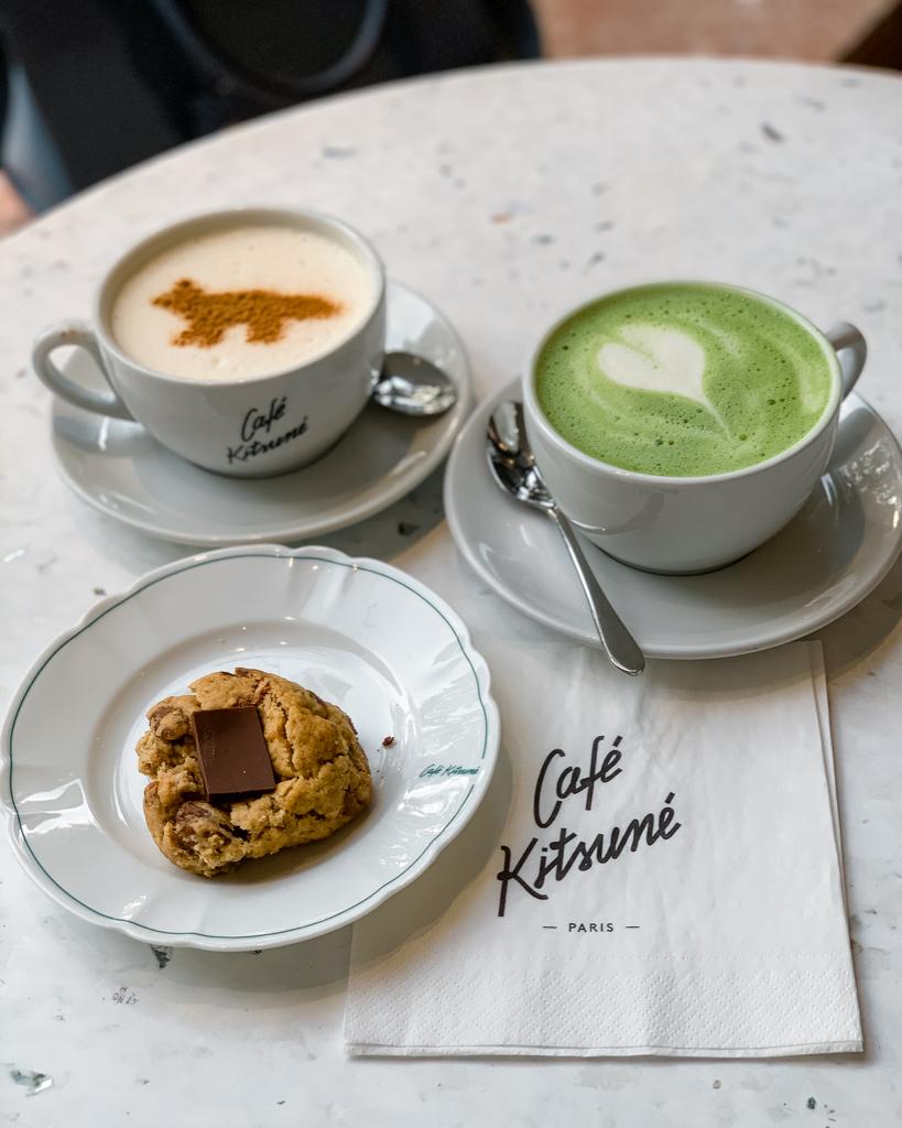 Kitsuné Café in Paris