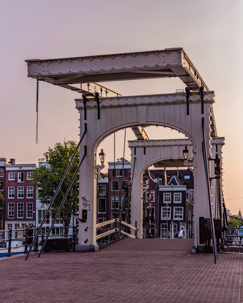 Magere Brug in Amsterdam - The Netherlands