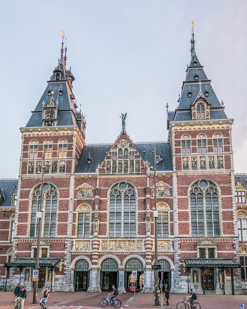 Rijksmuseum in Amsterdam - The Netherlands