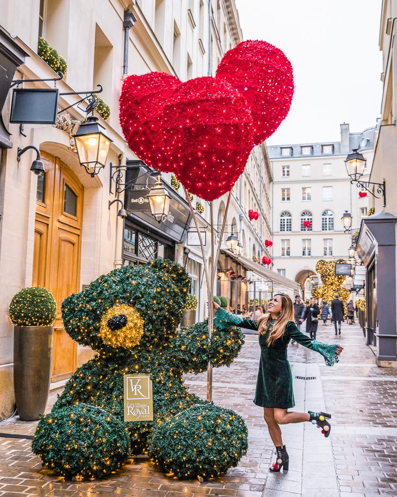 Photoshoot in Village Royal during Christmas - Paris