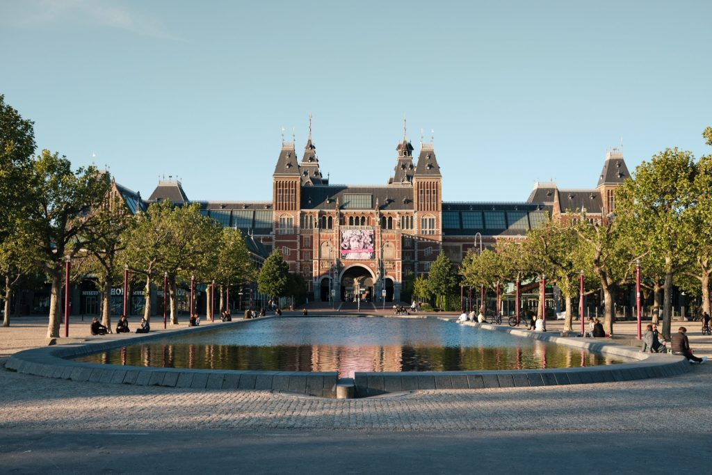 Museumplein in Amsterdam - the Netherlands (photo Frans Ruiter)
