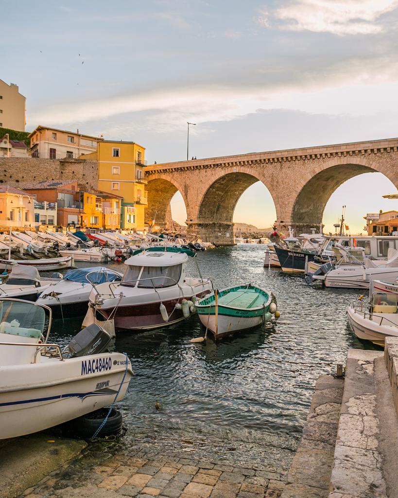 Vallon des Auffes in Marseille - French Riviera
