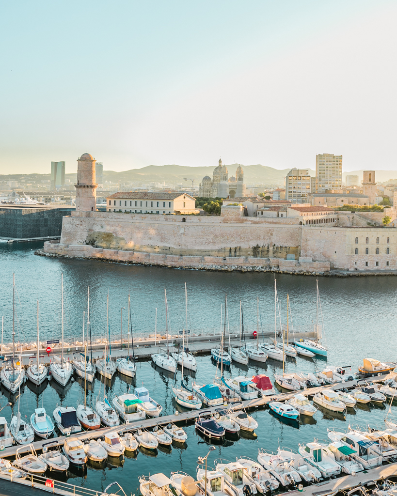 Vieux Port - The Old Port of Marseille - French Riviera