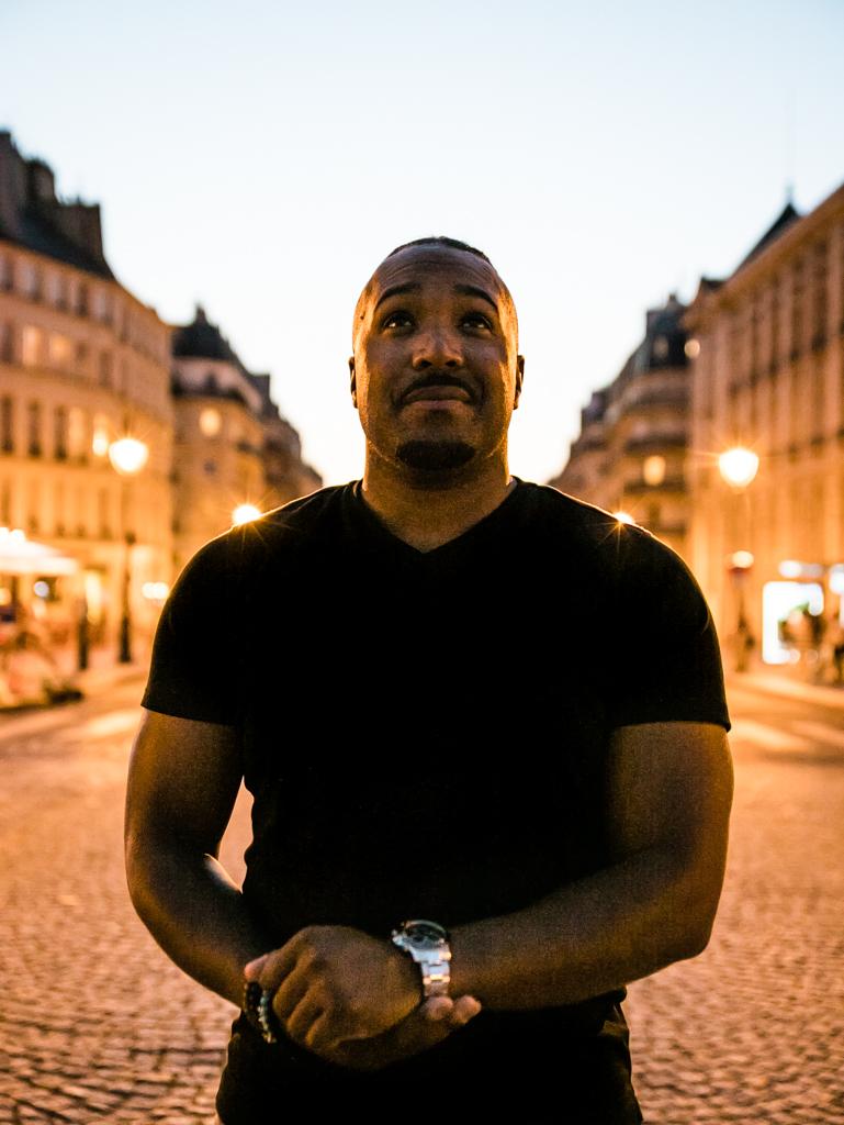 Portrait shot in the 5th arrondissement