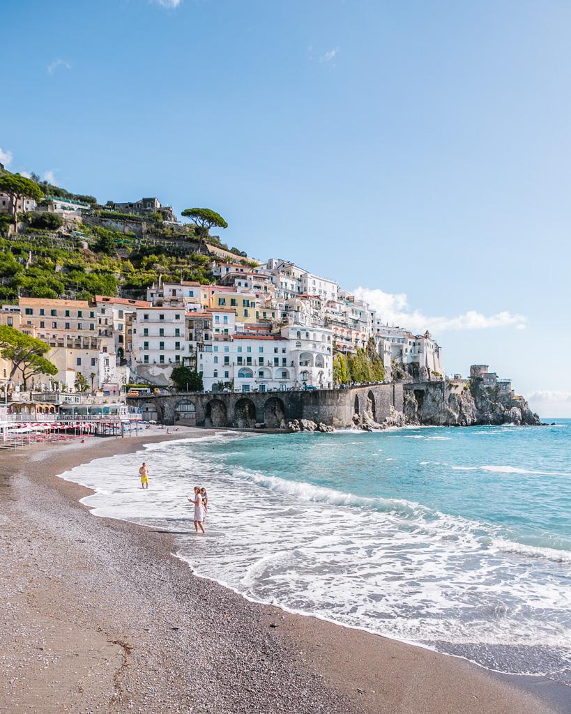 Beach of Amalfi - Amalfi Coast